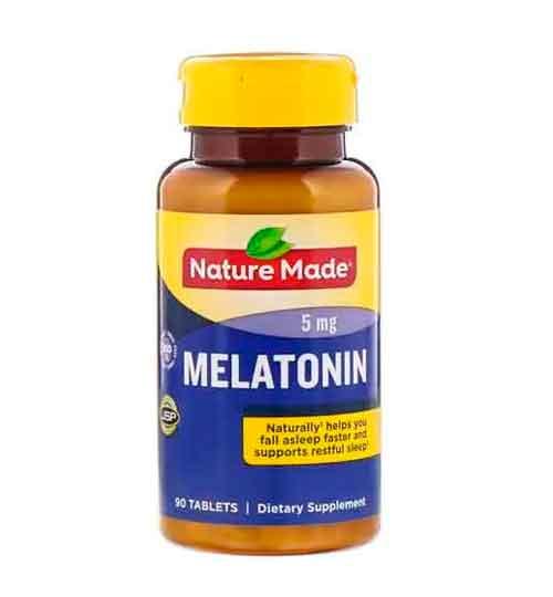 Melatonina Nature Made 5 mg, 90 Comprimidos