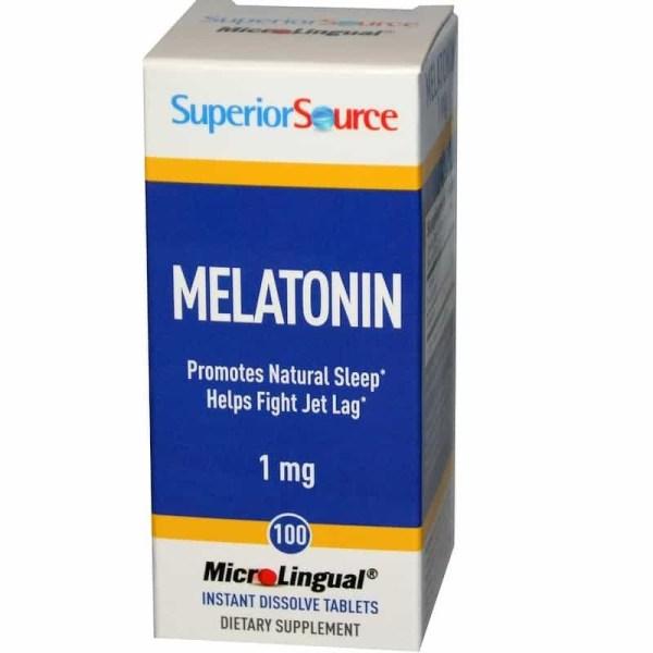 Melatonina 1mg, Superior Source