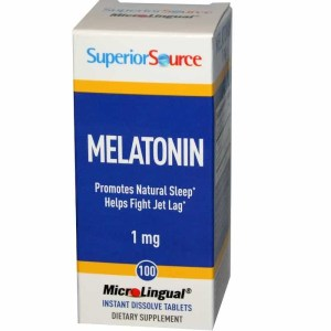 Melatonina 1mg, Superior Source