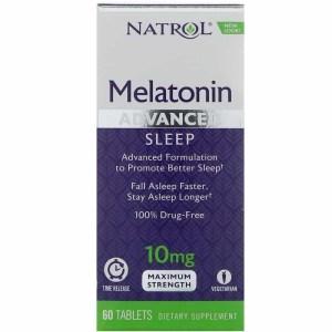Melatonina 10mg Natrol Liberação Rápida