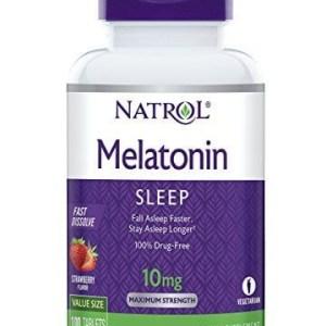 Melatonina 10mg Rápida Dissolução