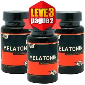 Leve 3 Pague 2 - Melatonina 3mg Optimum Nutrition