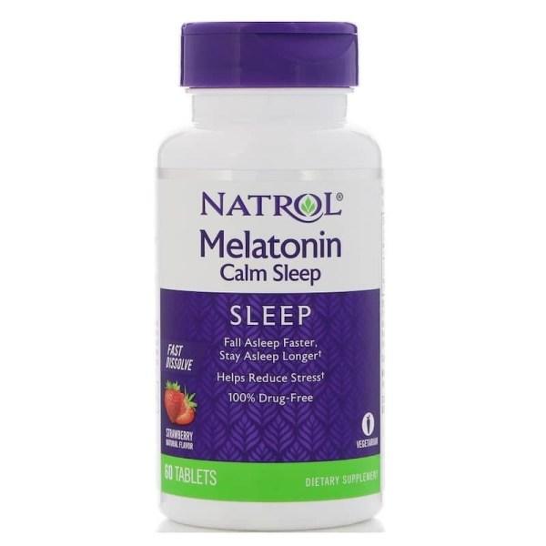 Melatonina Natrol 6mg Calm Sleep
