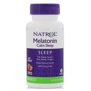 Melatonina Natrol 6mg Calm Sleep