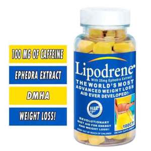 LIPODRENE Hi-Tech Pharma (100 cápsulas)