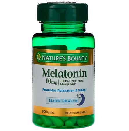 Melatonina natures bounty
