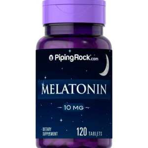 Melatonina 10mg Piping Rock