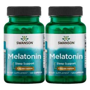 Melatonina 3mg Swanson