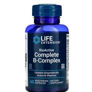 Complexo B Completo BioAtivo, Life Extension, 60 Cápsulas