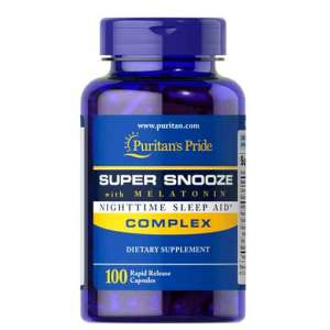 Melatonina Super Snooze 5 mg