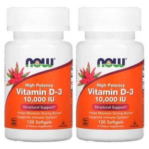 Now Foods Vitamina D-3