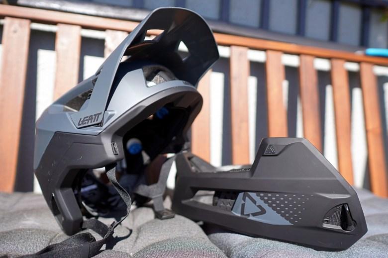 Leatt MTB 4.0 Enduro kjevebeskytter
