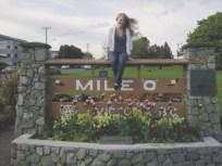 Mile 0, Victoria, British Columbia