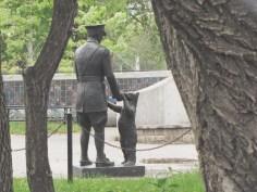 Winnie the Pooh, Assiniboine Park Zoo, Winnipeg, Manitoba