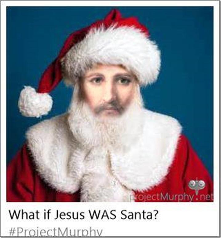 what if jesus was santa - Jesus Santa