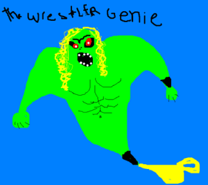 The Wrestler Genie