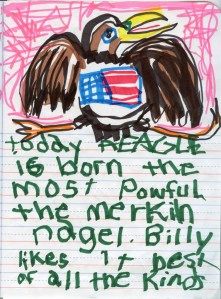 Today a Eagle Is Born the Most Powerful the Merkin Nagel