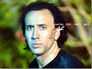 Anybody Votes! Where Did Nicolas Cage's Sideburns Go?