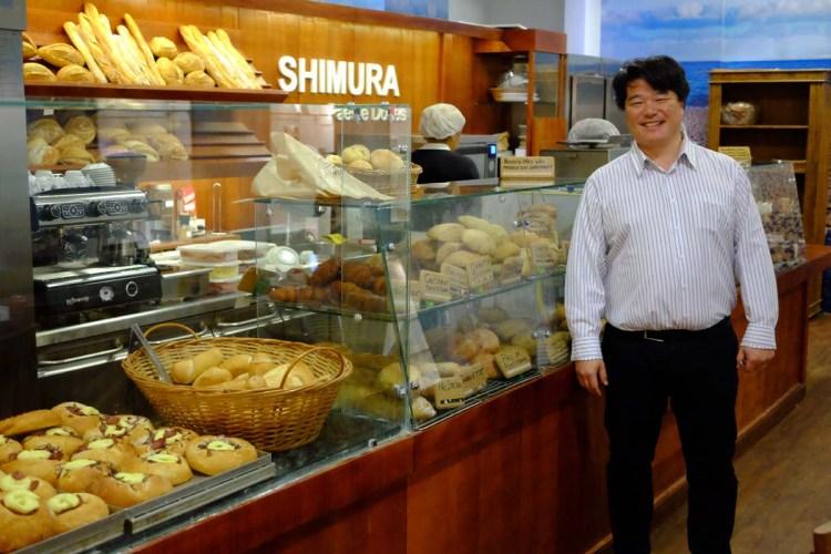 Shimura e suas criações - talento e competência traduzidos em pães de altíssima qualidade e sabor