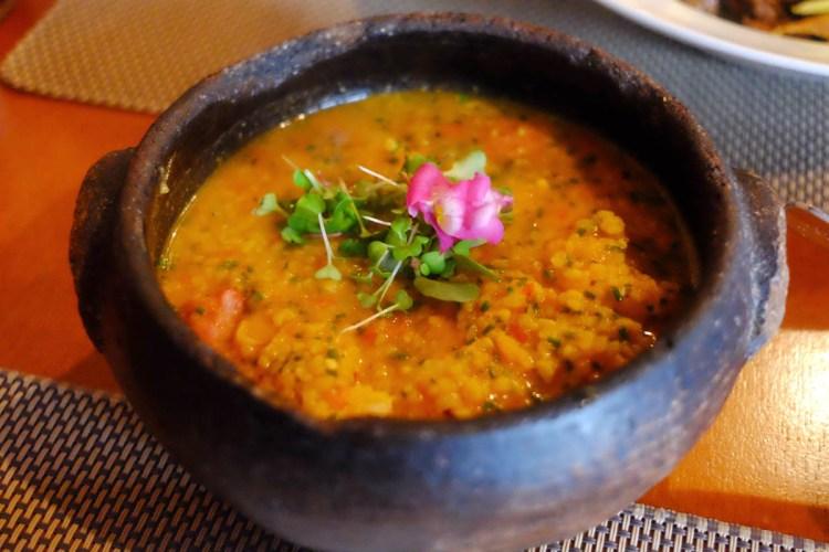 Canjiquinha com  camarão e linguiça - comfort food da melhor qualidade