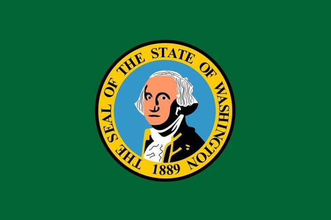 Washington State EMT License-Flag