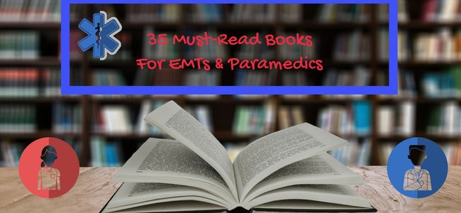 35 Paramedic books and EMT book Graphic