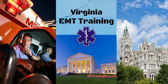 emt training virginia - emt training base