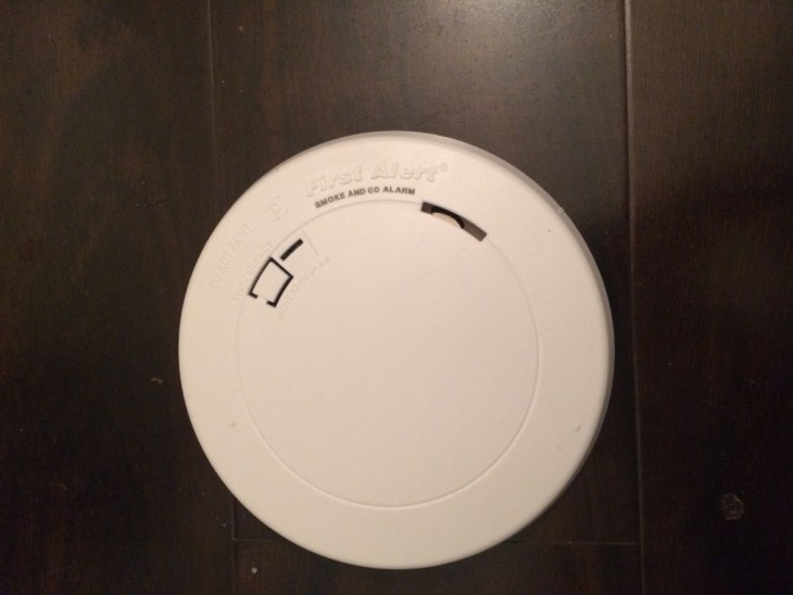 First alerst carbon monoxide detector and smoke alarm
