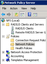 NPS Server Role Manager