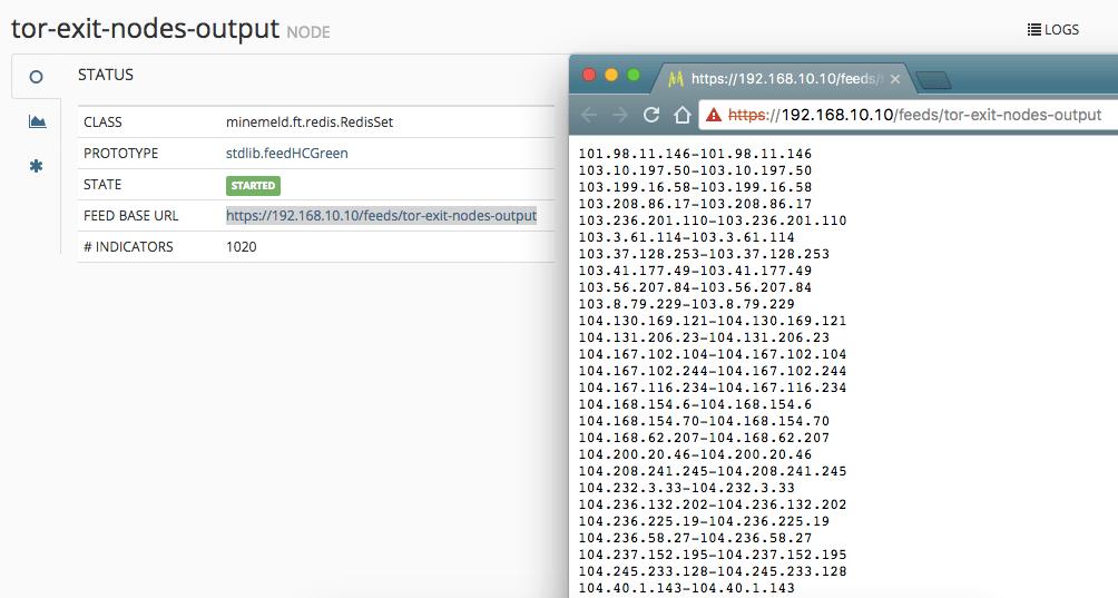 Palo Alto MineMeld Example Configuration - emtunc's Blog