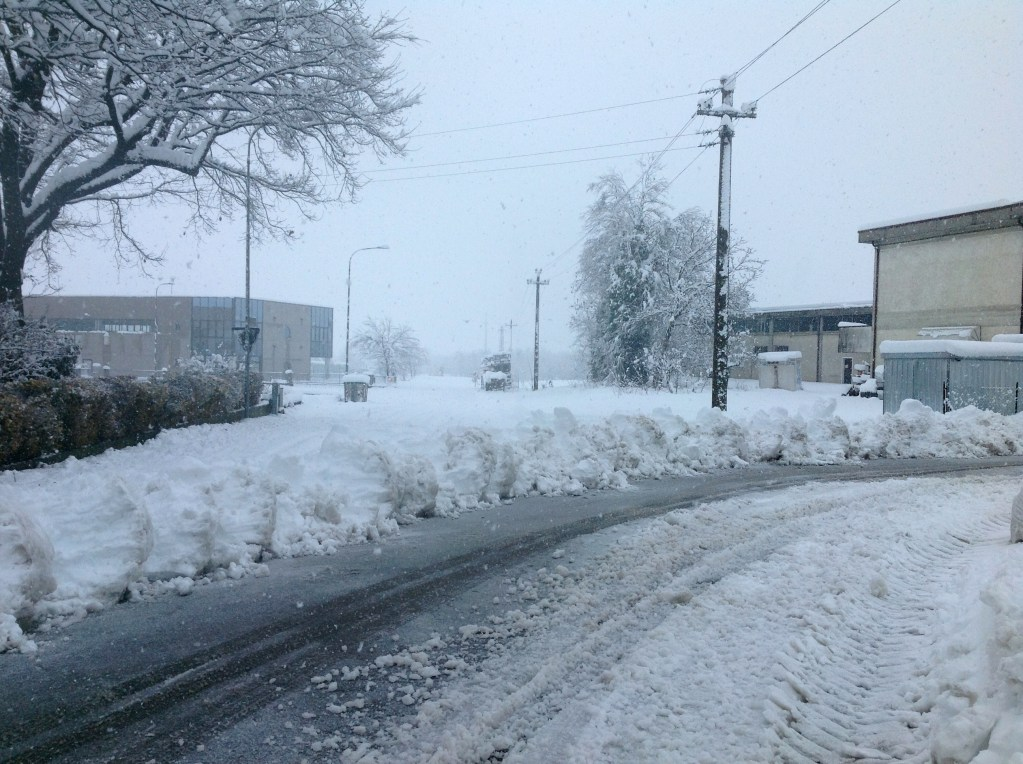 road to our office - during Big Snow Feb 2015