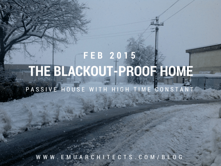 The blackout-proof home - Emu Architects