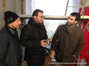 the boys at work - Luci, Guida, Bonilauri