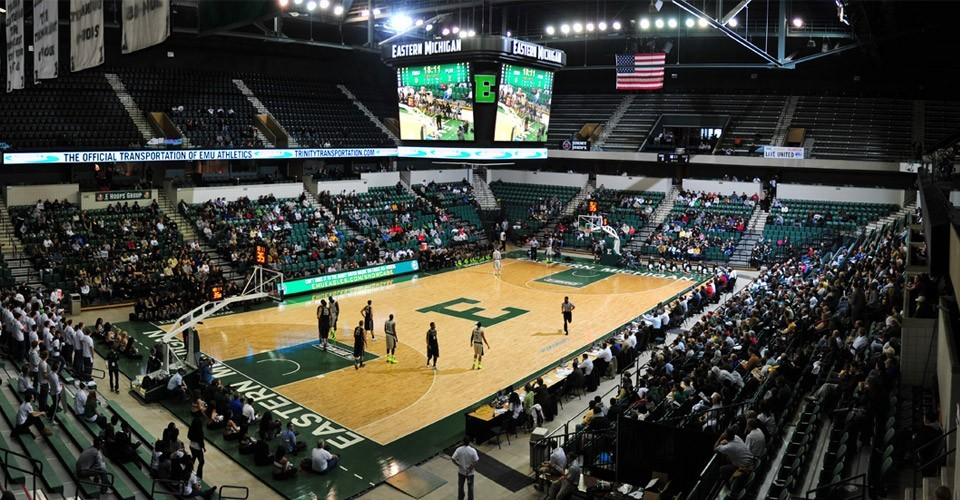 EMU Convocation Center - Eastern Michigan University Athletics
