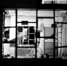 Through the window – Fuji Acros 100
