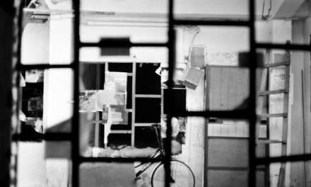 Through the window – Shot on Fuji Acros 100 at EI 100 (120 format)