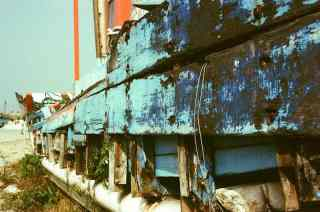 Dry dock - Fuji 64D 8552 motion picture film (35mm)