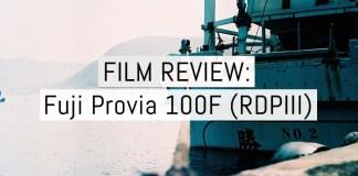 Cover - Fuji Provia 100F - RDPIII
