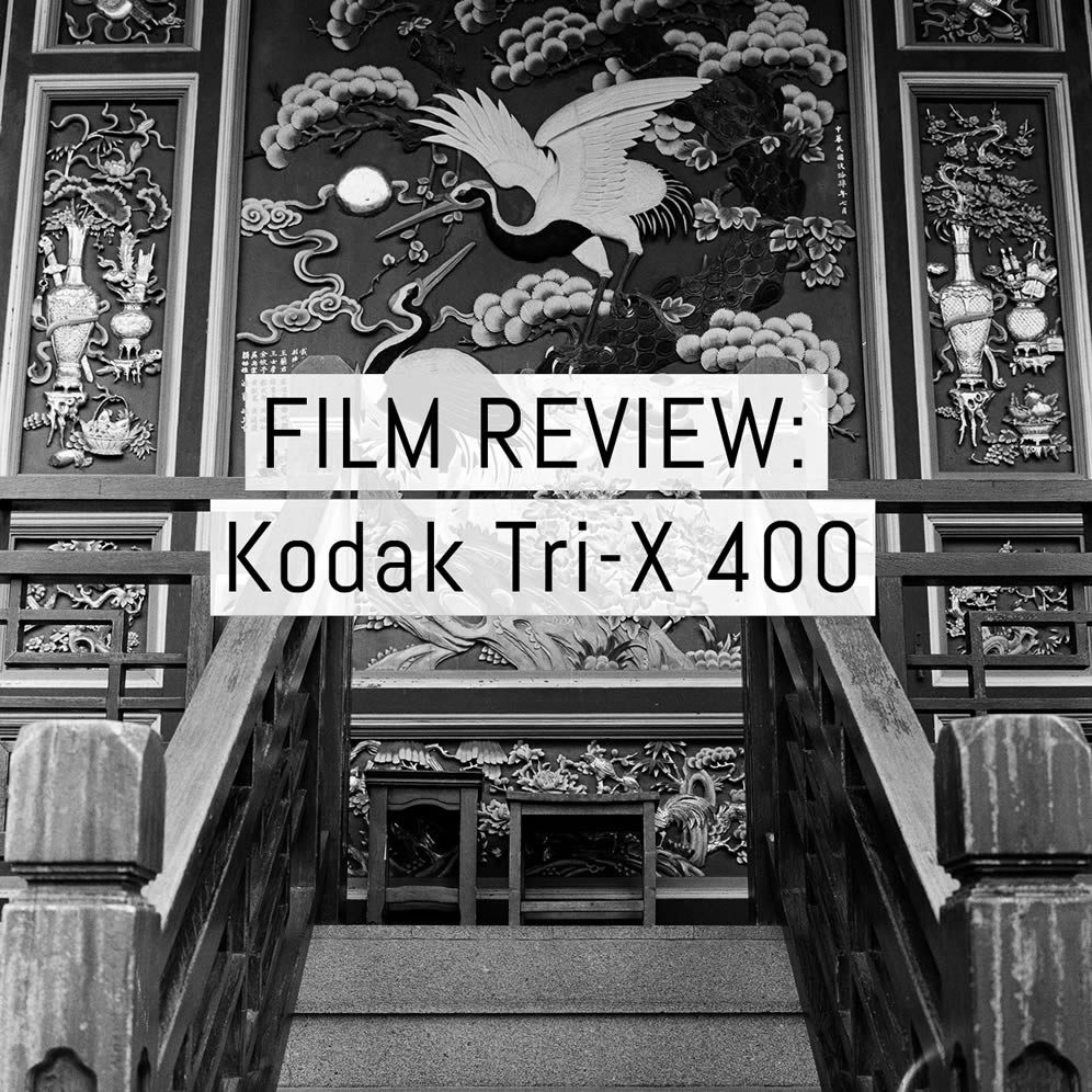 Film review: Kodak TRI-X 400 black and white negative film - 35mm, 120 and large formats
