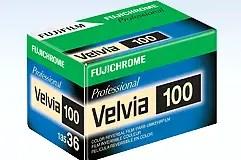 Fuji Velvia 100 35mm box