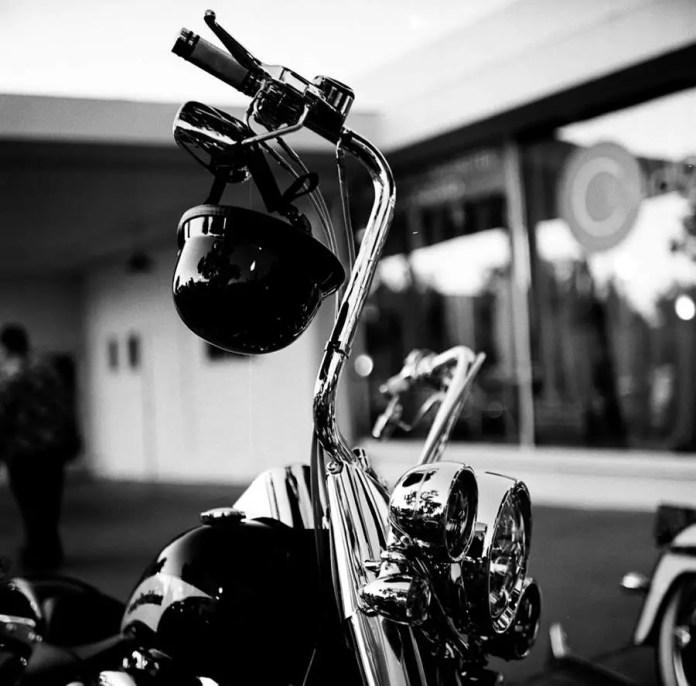 Motorcycle helmet - Cruising Grand, Escondido, California