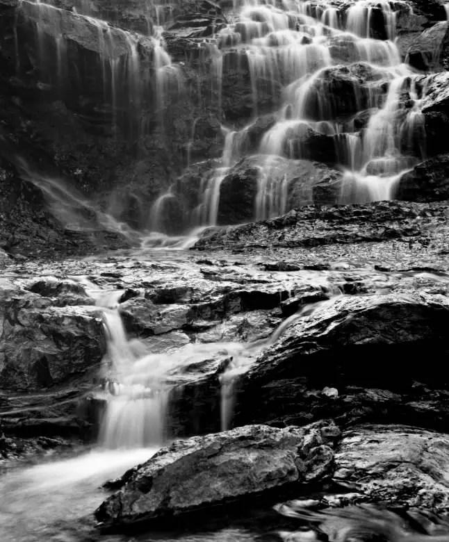 Guernsey Waterfall, 1979
