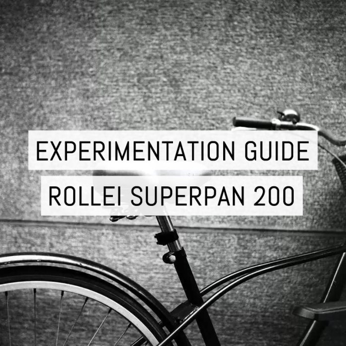 Cover - Experimentation Guide - Rollei Superpan 200