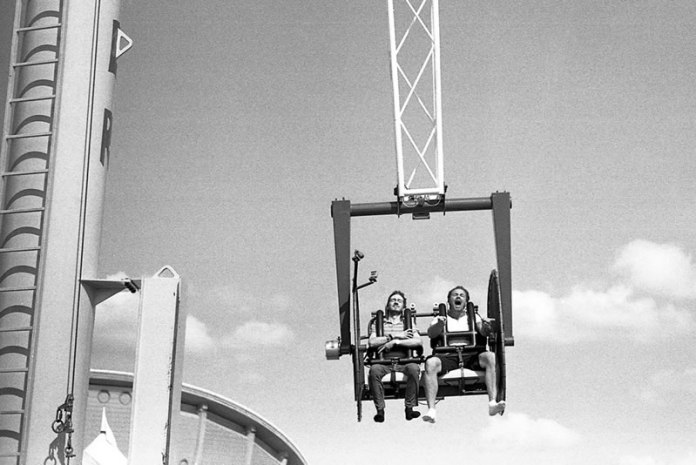 """Strangers on Rides"", Calgary Stampede, Calgary, Alberta - Leica M3 