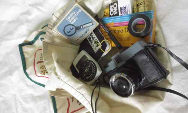 The photographer's daypack part 3:  Toy camera style