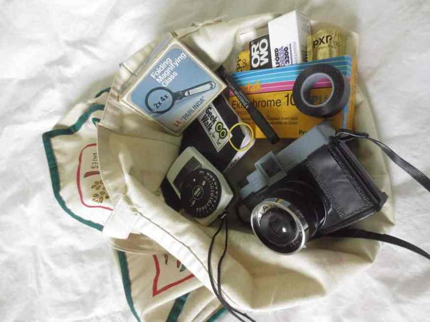 The Toy Camera Daypack