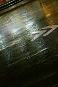 Asphalt shimmer - Shot on Fuji Superia X-TRA 400 at ISO400.