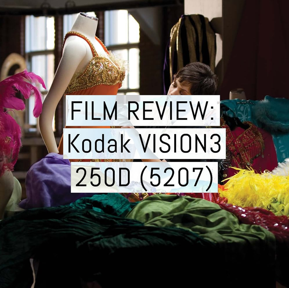 Film review - Kodak VISION3 250D 35mm motion picture film (5207)