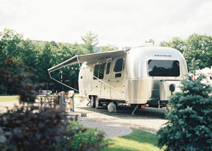 Airstream – Woodstock, NH – Leica M3 + Kodak Portra 400 NC