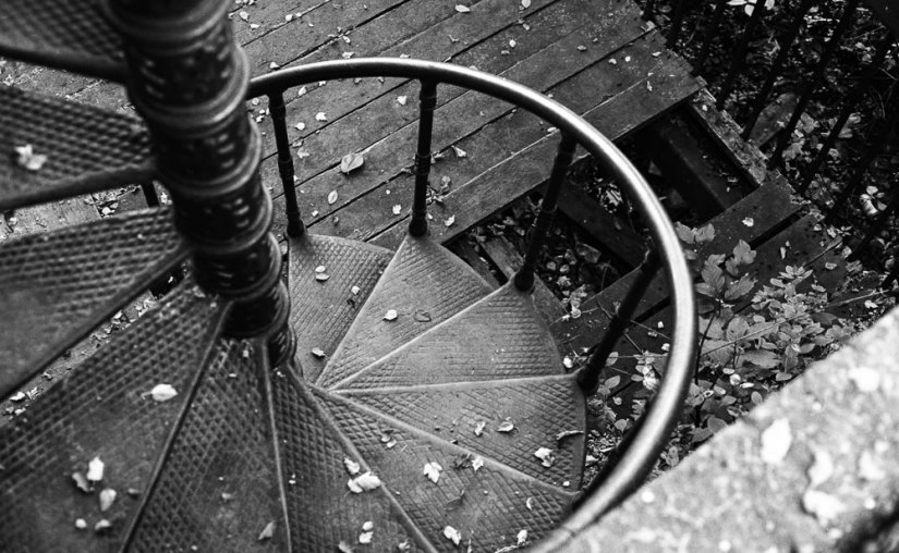 The Golden Spiral - Ilford HP5+